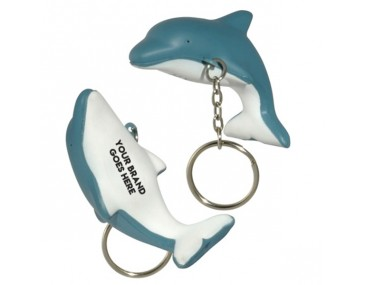 Mini Dolphin Stress Reliever Keyrings