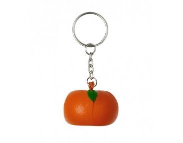 Orange Customised Stress Ball Keyrings