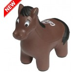 Horse Stress Balls With Promo Branding