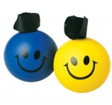 Logo Printed Stress Ball Smiley Bands