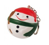 Snow Man Stress Ball Keyrings Branded