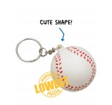 Branded Baseball Key Rings