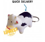 Cow Shaped Key Rings