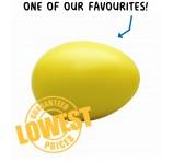 Yellow Egg Stress Toy