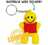 Squishy Funny Man Key Ring