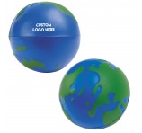Stress Reliever Globes With Logo