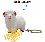 Squishy Sheep Key Ring