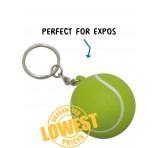 Squishy Tennis Ball Key Rings